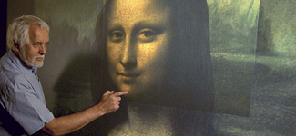 Mona Lisa mystery of where the background 02